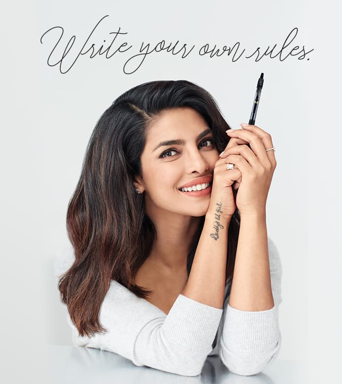 Priyanka's favorite pen. Write your own rules.